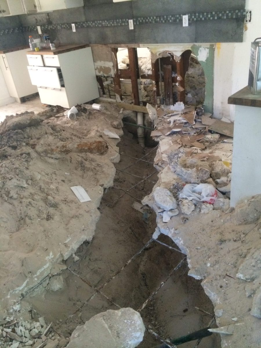 drain line damage miami claim adjusters