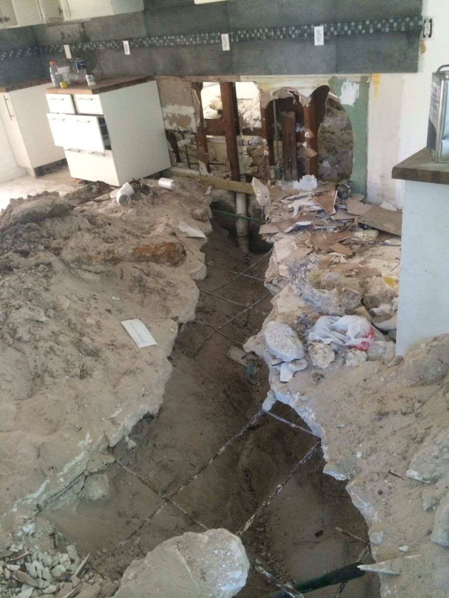 drain line damage miami claim adjusters 2